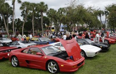 Ferraris on St Armands Circle